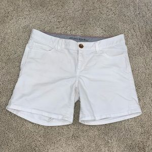 White Banana Republic Women's Midi Shorts